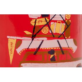 United By Blue Places You'll Go Enamel Steel Mug 355ml, red